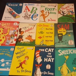 Dr Seuss hardcover book lot of 12